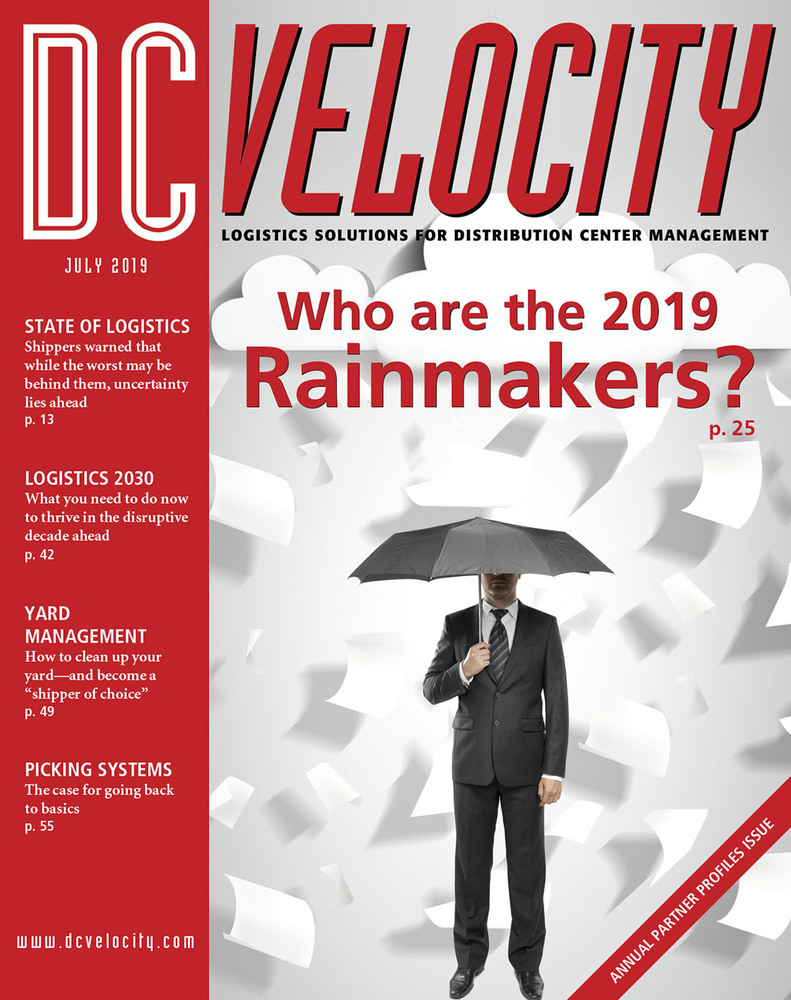 DC Velocity - July 2019 Mobile - Cover