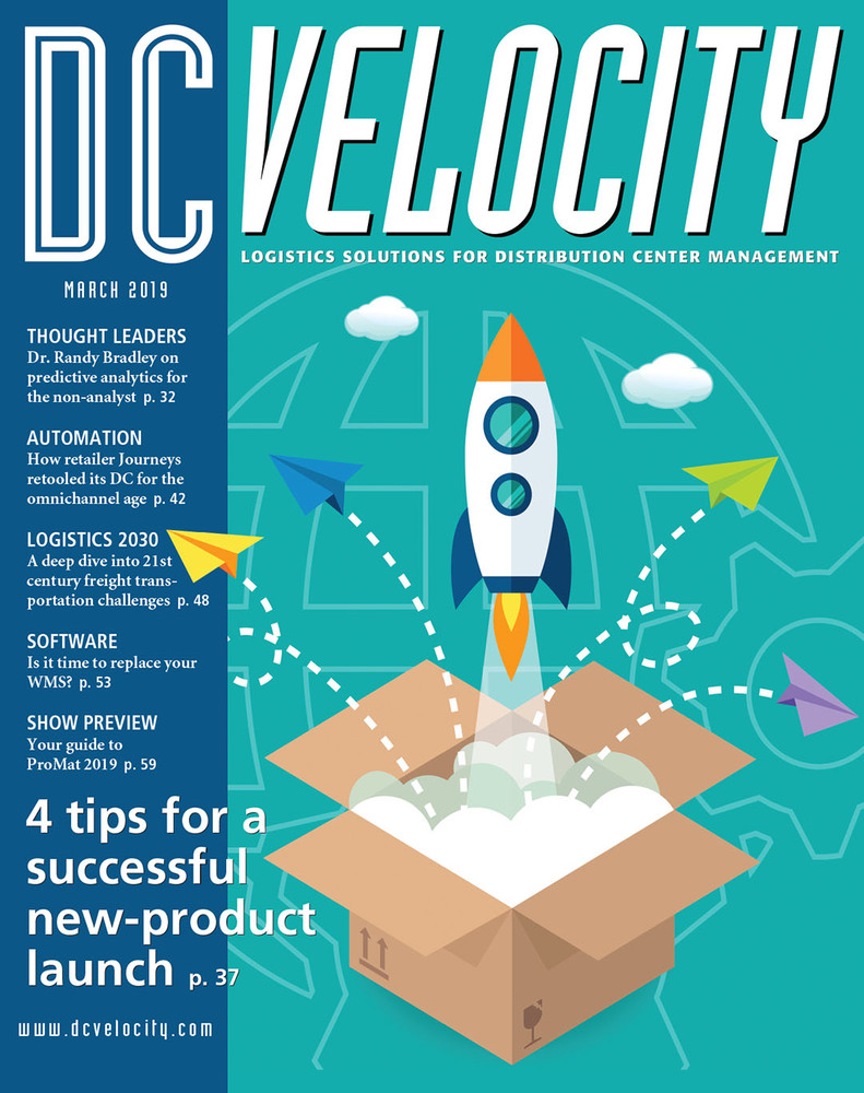 DC Velocity - March 2019 Mobile - Cover